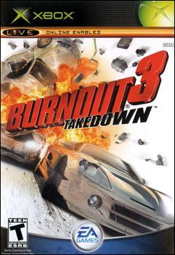 Burnout 3:  Takedown (Xbox) by Electronic Arts Box Art