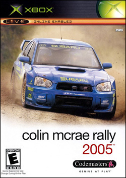 Colin McRae Rally 2005 (Xbox) by Codemasters Box Art