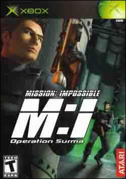 Mission: Impossible: Operation Surma Box art