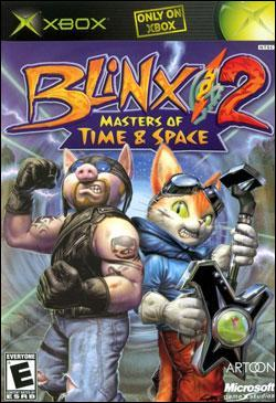 Blinx 2: Masters Of Time & Space (Xbox) by Microsoft Box Art