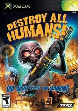 Destroy All Humans Box art
