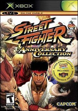 Street Fighter Anniversary Collection Box art