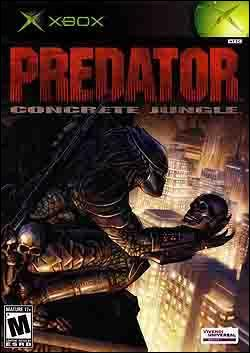 Predator: Concrete Jungle Box art