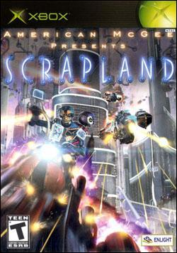 American Mcgee Presents: Scrapland (Xbox) by 2K Games Box Art