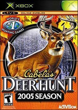 Cabela's Deer Hunt: 2005 Season (Xbox) by Activision Box Art