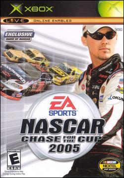 NASCAR 2005: Chase for the Cup (Xbox) by Electronic Arts Box Art
