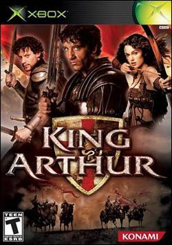 King Arthur (Xbox) by Konami Box Art