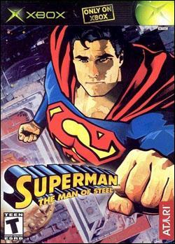 Superman: The Man of Steel (Xbox) by Atari Box Art