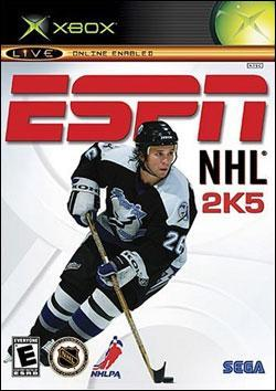 ESPN NHL 2K5 Box art