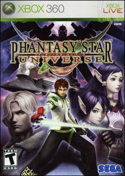 Phantasy Star Universe (Xbox 360) by Sega Box Art