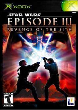 Star Wars Episode III: Revenge of the Sith (Xbox) by LucasArts Box Art