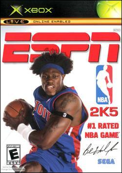 ESPN NBA 2K5 (Xbox) by Sega Box Art