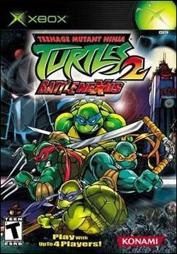 Teenage Mutant Ninja Turtles 2:  Battle Nexus (Xbox) by Konami Box Art