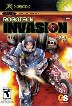 Robotech:  Invasion (Xbox) by Gathering of Developers Box Art