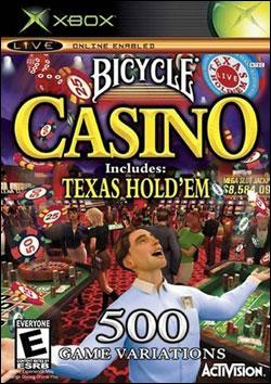 Bicycle Casino Includes: Texas Hold'em (Xbox) by Activision Box Art