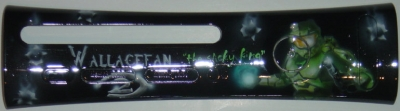 Custom plate airbrushed by MyPaintEffects. Filed under Halo 3.