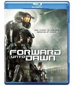 Halo Forward Unto Dawn Bluray Cover