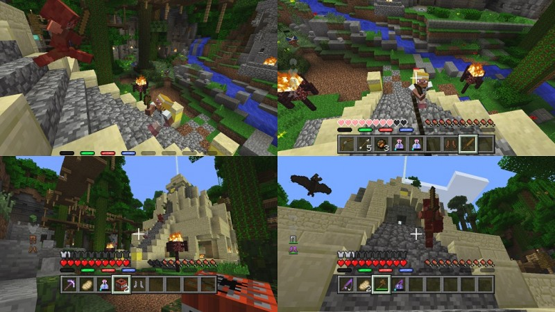 Battle mini game for minecraft out now amp free on consoles
