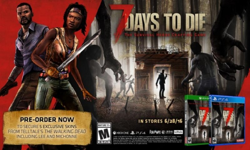 39 7 days to die 39 coming to the xbox one on june 28th for Cocinar en 7 days to die ps4