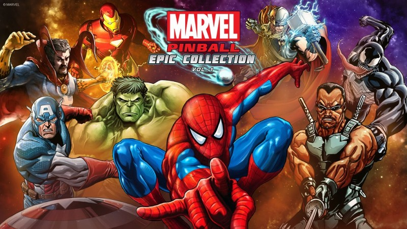 Resultado de imagem para Marvel Pinball Epic Collection: Volume 1