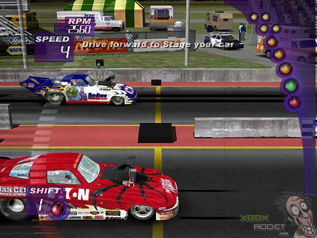 Old Xbox Games Racing Games : Ihra drag racing original xbox game profile