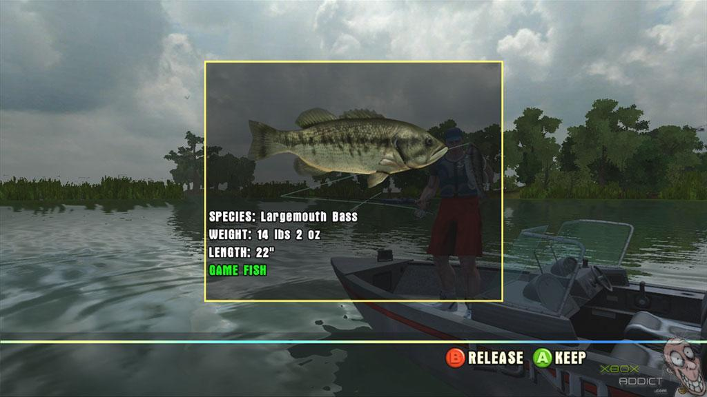 Rapala tournament fishing xbox 360 game profile for Xbox fishing games