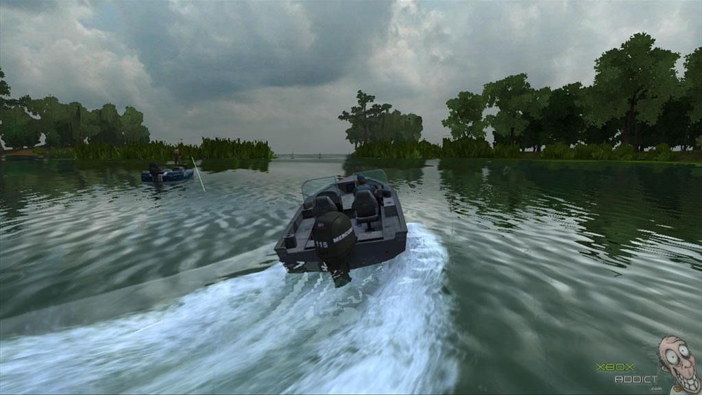 Rapala tournament fishing xbox 360 game profile for Fishing games for xbox 360