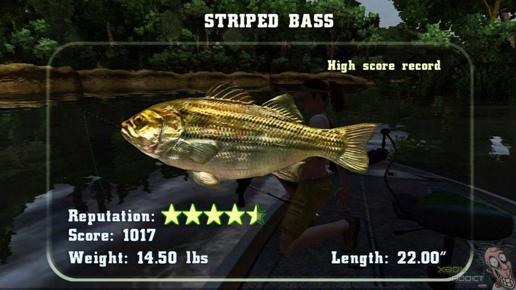 Rapala fishing frenzy review xbox 360 for Xbox 360 fishing games