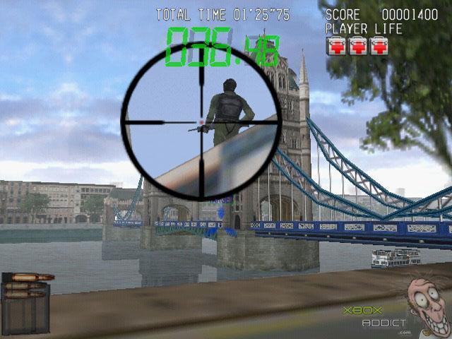 Silent Scope Complete Review Xbox Xboxaddict Com