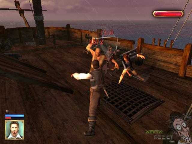 Original Xbox Game Ship : Pirates of the caribbean original xbox game profile